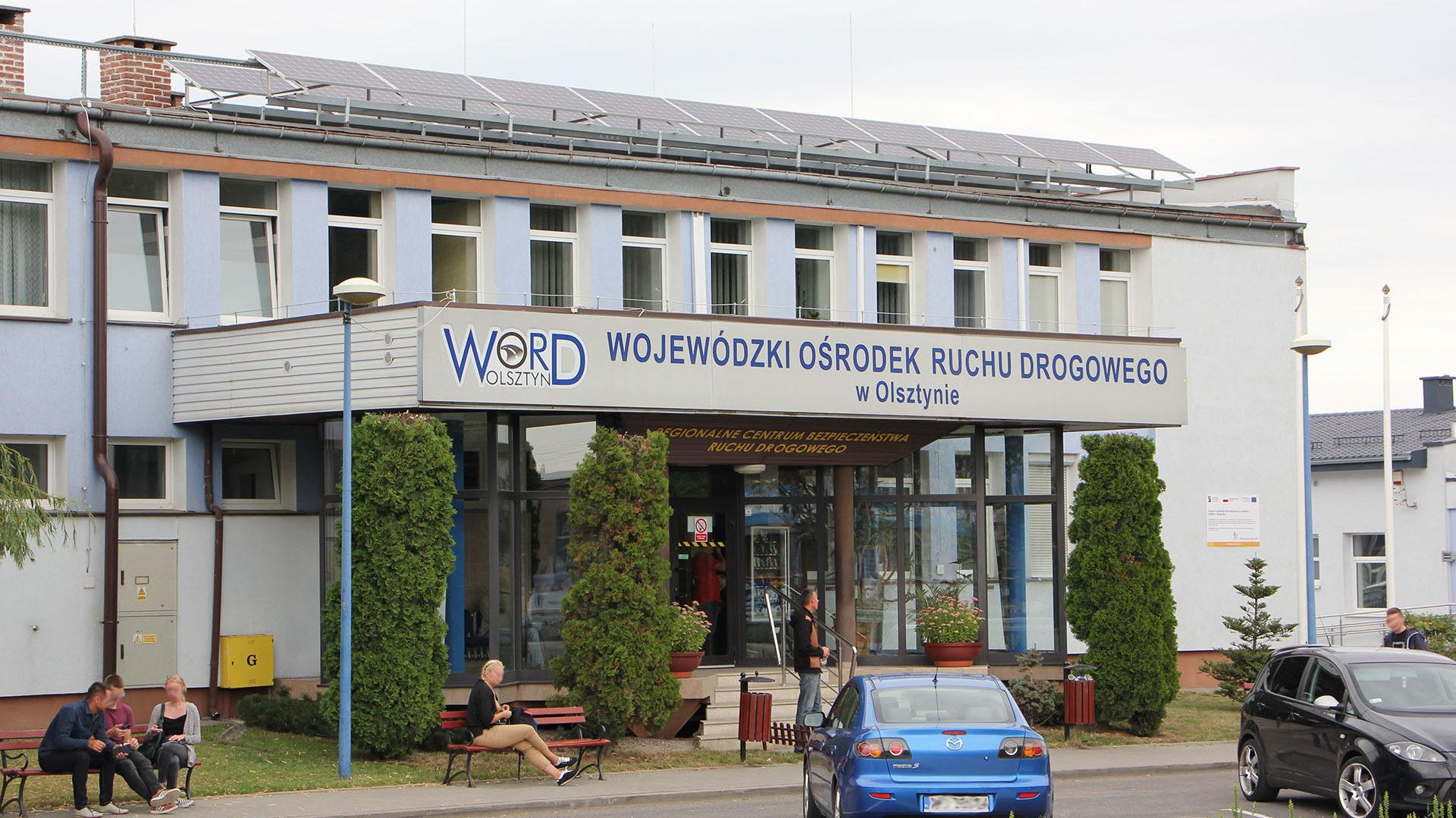 WORD Olsztyn – Wojewódzki Ośrodek Ruchu Drogowego